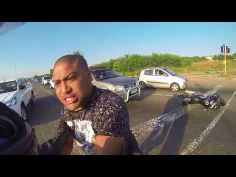 Angry Driver Vs Biker South Africa 2018