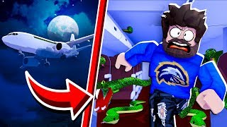 A MONSTER ATTACKED OUR AIRPLANE!! | Roblox