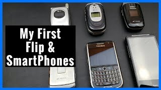 My First Flip & SmartPhones - Retro / Old Phone Review | LG | Samsung | BlackBerry | HTC