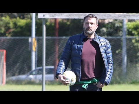 Ben Affleck At His Daughter's Soccer Game