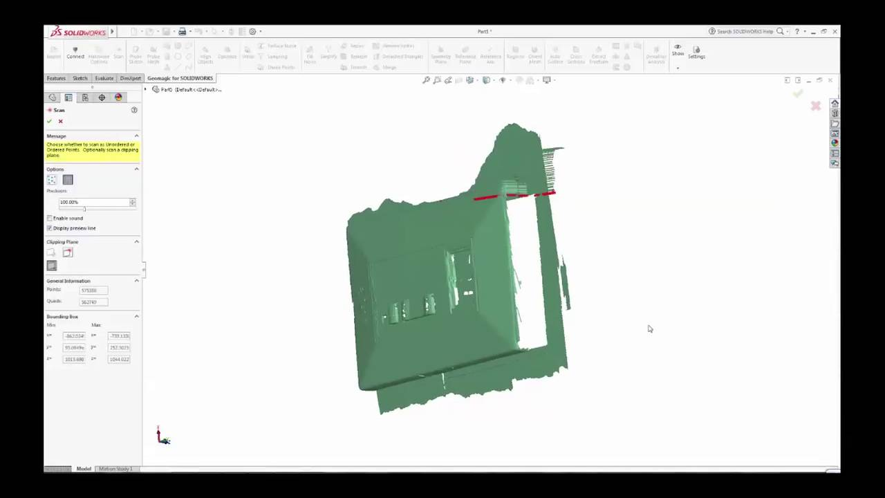 Geomagic for SOLIDWORKS: Use 3D Scanner to Scan Directly into SOLIDWORKS  Environment
