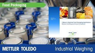 How to Improve Package Filling Applications - METTLER TOLEDO Industrial - en