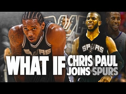 What If CHRIS PAUL SIGNS with the SPURS?!
