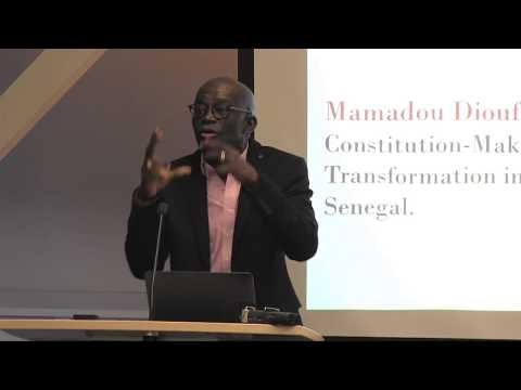 Mamadou Diouf: Constitution-Making and Social Transformation in Africa