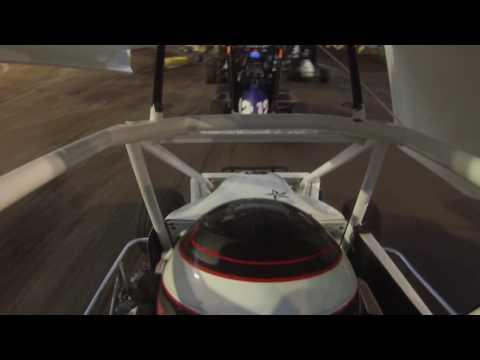 Preston Scheulen Racing 06-18-16 A-Feature Port City Tulsa Oklahoma Junior Sprints