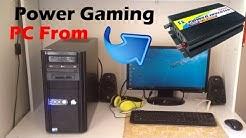 Powering Gaming PC Off Solar | Uninterruptible Gaming! | Diy Tesla Powerwall Update 6