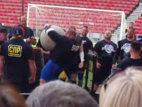 Brian shaw 250kg world record atlas stone load