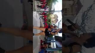 Aerobik bersama artis laga si nini pelet ( anika hakim)