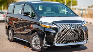 2021 Lexus Lm300h is the Luxury MPV by Lexus & it Costs $ 185,000 – Visual Review + POV...