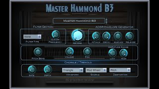 Syntheway Master Hammond B3 Organ VST Plugin (Virtual Musical Instrument) Windows, Mac OS X