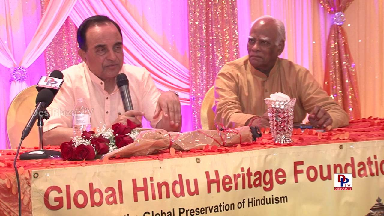 Q & A at Dr. Subramanian Swamy meet in Dallas, Texas || Desiplaza Dallas