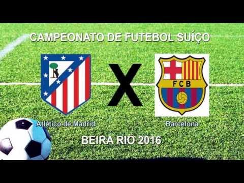 Camp Beira Rio 4ª RODADA - ATLÉTICO DE MADRID 0 X 0 BARCELONA
