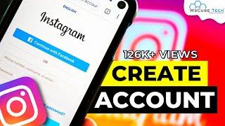 Instagram Account | إنشاء Instagram Account | كيفية إنشاء Instagram حساب