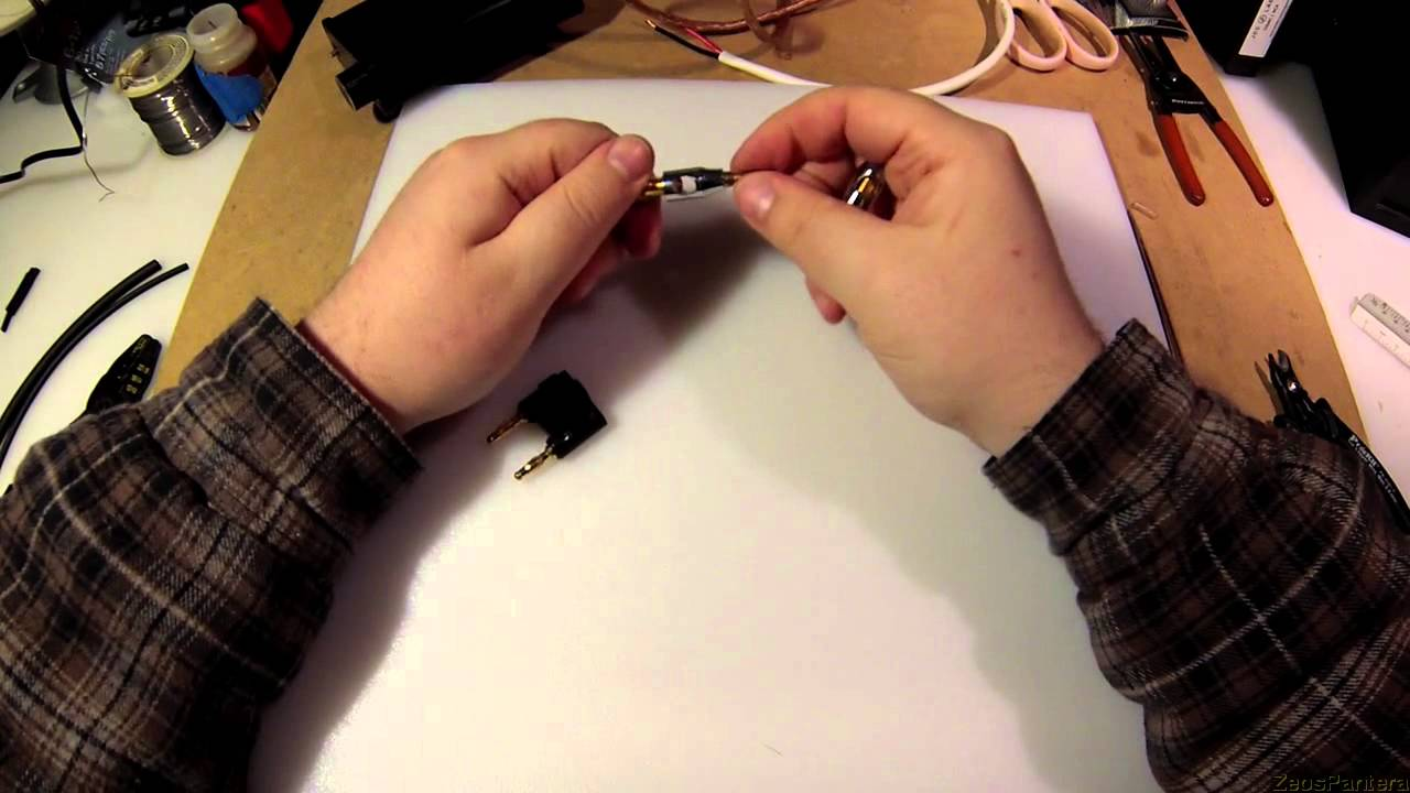 Z Tutorial How To Strip Speaker Wire And Use It Youtube In Wall Wiring Diagram