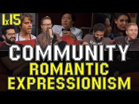 Community - 1x15 Romantic Expressionism - Group Reaction