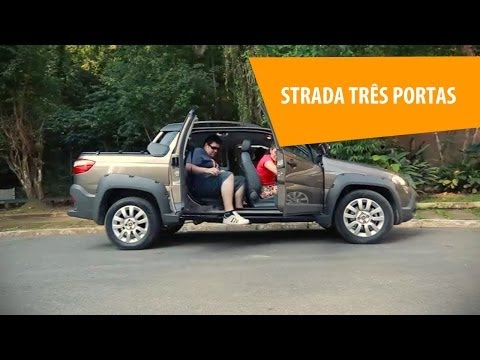 Fiat Strada com três portas - Vale a pena?