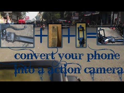 Convert you phone into a Action Camera| How to make your own action camera(cheapest) ""