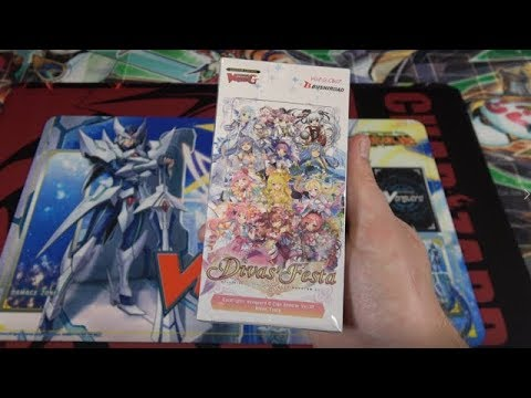 Cardfight Vanguard G Divas' Festa Unboxing | New Bermuda Triangle Cards!