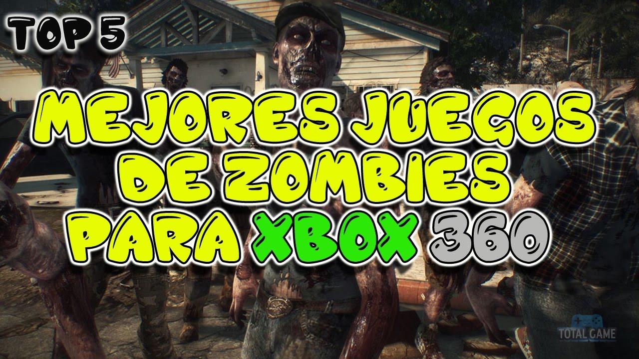 Mejores juegos de zombies para xbox youtube