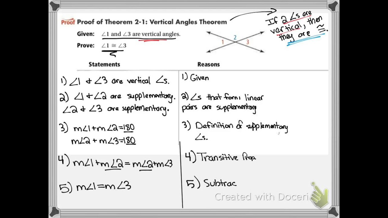 worksheet Proving Angles Congruent Worksheet 2 6 proving angles congruent youtube congruent