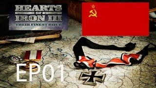 Hearts of Iron 3 Their Finest Hour Let´s Play Soviet Union EP01