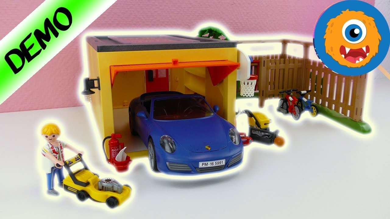 Playmobil Garage With Bike Parking City Life 9638 English For