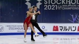 Александра Степанова Иван Букин Ритм танец Танцы на льду Чемпионат мира по фигурному катанию