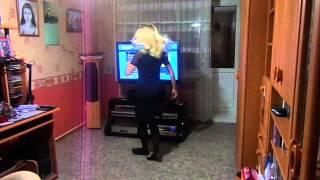 Анастасия Скулкова (домашнее видео)