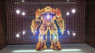 ACGHK July 2015 - King Arts Holographic display MK44 Hulkbuster