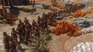 I added an additional 138 Nazeems to Skyrim and followed them around for 24 hours