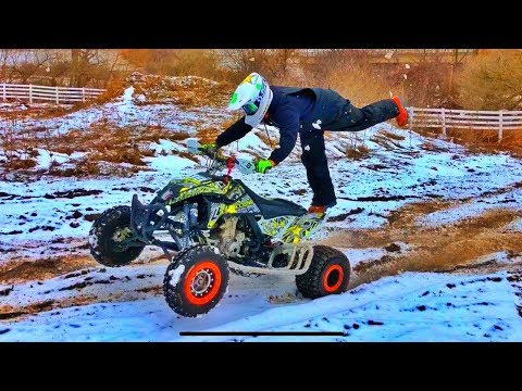 Winter QUAD RIDE! | Mark Freeman #408