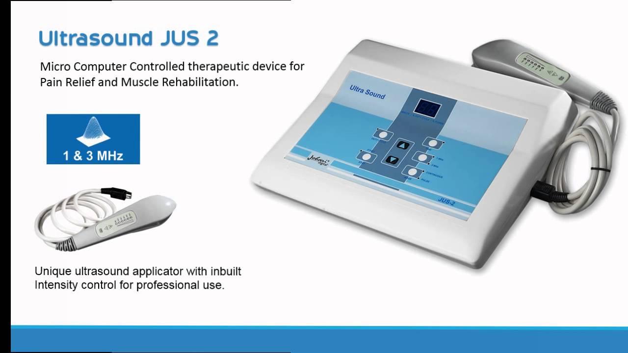 ultrasound physiotherapy machine