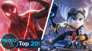 Top 20 New PS5 Games