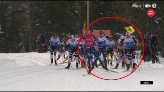 CS Skiers Braking Poles For 6 Minutes