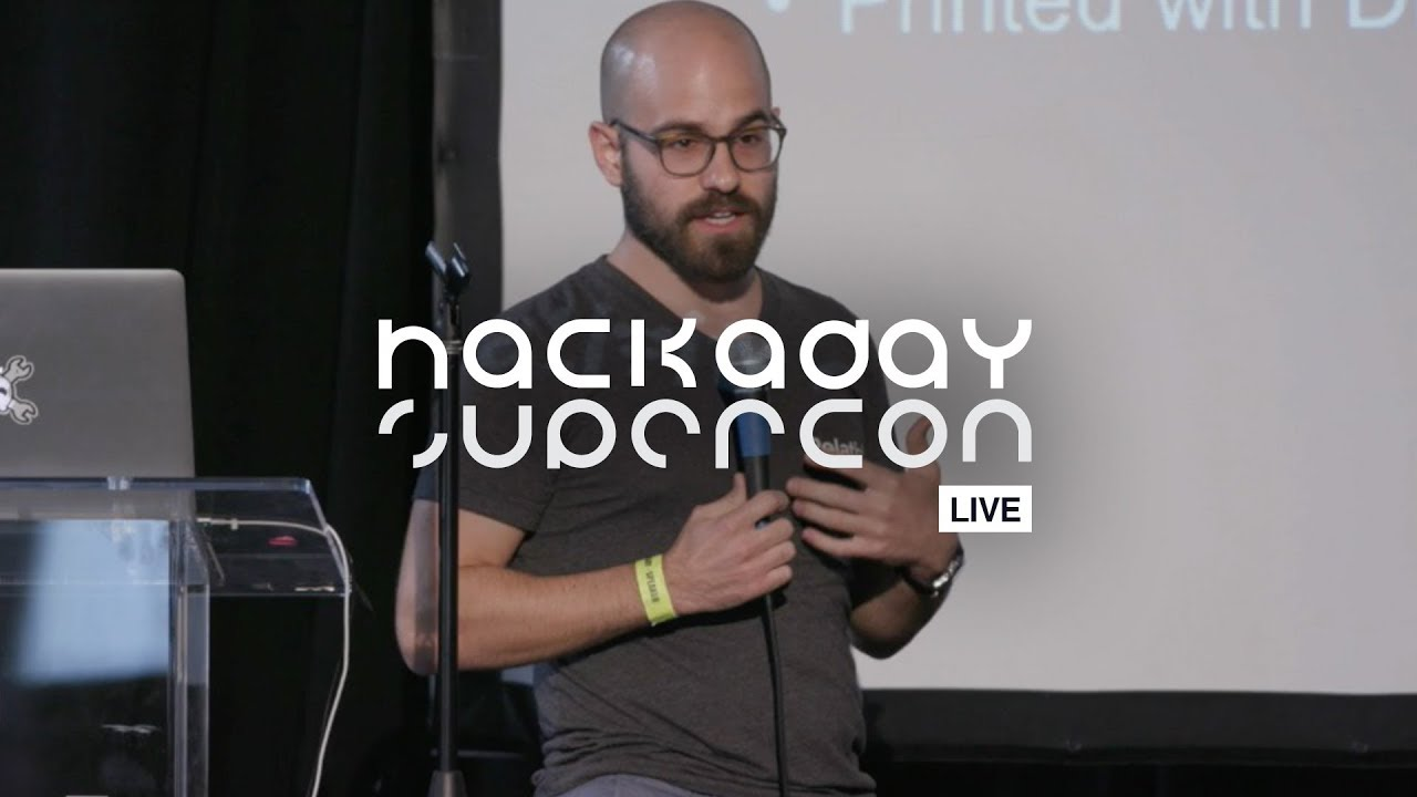 Hackaday Supercon - Bryce Salmi : 3D Printing An Orbital Class Rocket