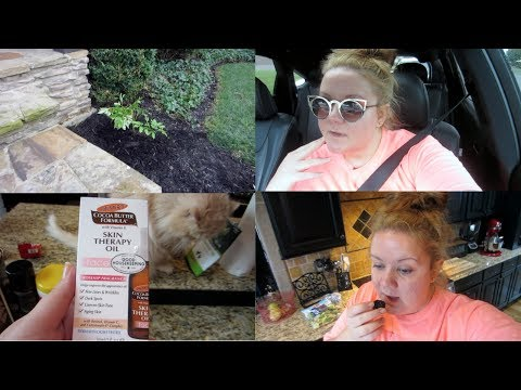 Erica's Life Vlog | I'm Going To Chicago | Carpool Karaoke | Planting Peonies | New Face Oil
