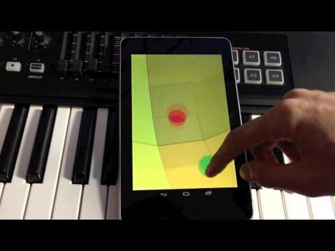 libGDX + libpd Generative Music Game Android Plot