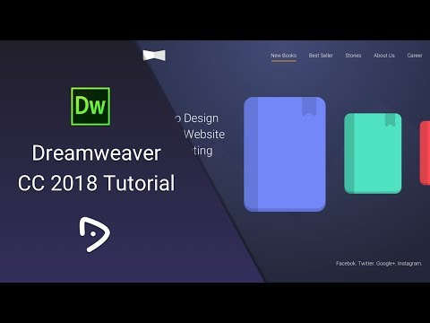 Dreamweaver CC 2018 Tutorial - 1 - Introduction