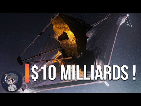 10 MILLIARDS DE DOLLARS ! Un télescope spatial HORS NORME - Le James Webb Space Telescope - LSV #7