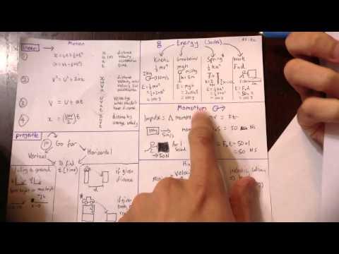 Physics - Motion Revision