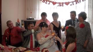 Олег и Анна Наша Красно-белая свадьба 8.06.2013