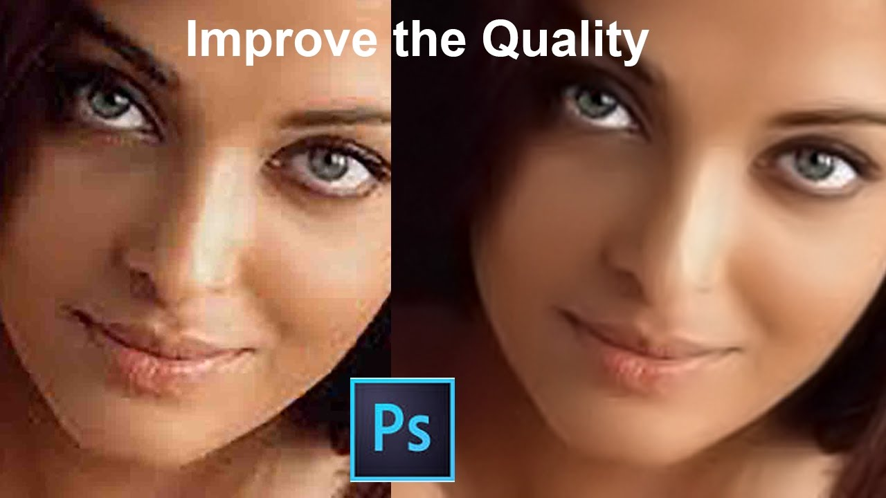 improve the quality how to improve the image quality in adobe