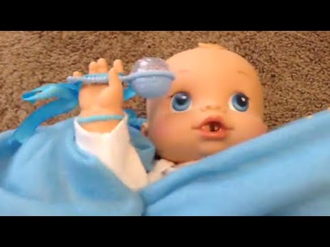 Playing With Sherlock Baby Alive Wets N Wiggles Boy