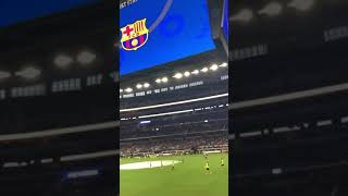 El Cant Del Barca in AT&T Stadium, Dallas, Texas