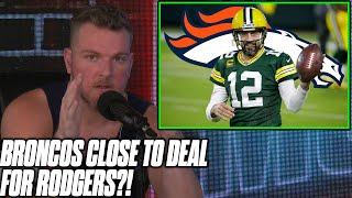 Pat McAfee Reacts To Rumor Aaron Rodgers Is Close To Becoming A Bronco