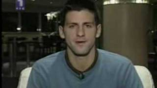 Novak Djokovic Serbian tennis player(Kosovo is Serbia)