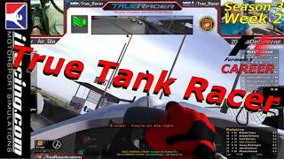True Tank Racer: iRacing Road to Formula 1 Career. (Episode 2 Season 3 )