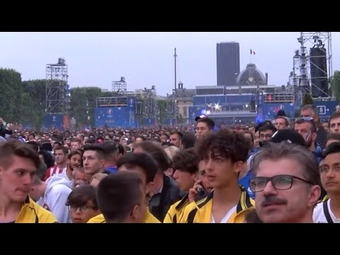 LIVE from Paris fan zone as France plays Portugal in Euro 2016 final