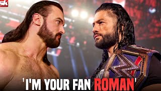Drew McIntyre shares his opinion on WWE Universal Champion Roman Reigns WWE News Roundup