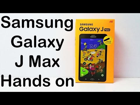 Samsung Galaxy J Max Review | Unboxing, Hands On First Look & Price in India | Nothing Wired